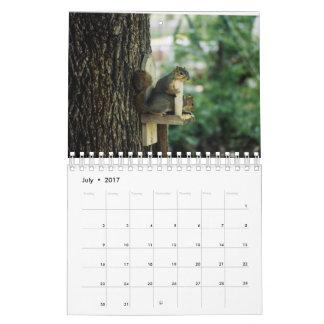 Ekorrekalender Kalender