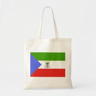 Ekvatorialguinea flagga tygkasse