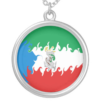 Ekvatorialguinea Gnarly flagga Hängsmycken