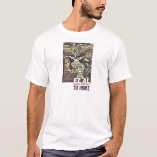El Al till Rome, vintage resoraffisch Tshirts