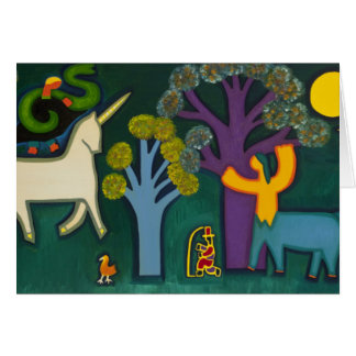 El Bosque Magico de Lucas 2009 Hälsningskort