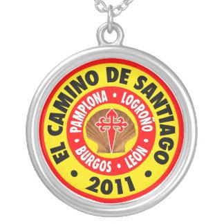 El Camino De Santiago 2011 Silverpläterat Halsband