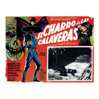 El Charro De Las Calaveras Vykort