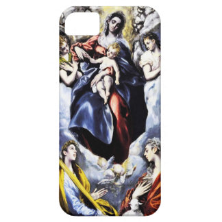 El Greco fodral för oskuld- och barniPhonen 5 iPhone 5 Case-Mate Cases