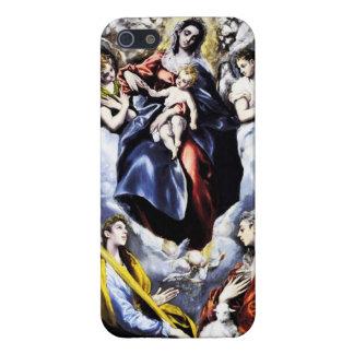 El Greco fodral för oskuld- och barniPhonen 5 iPhone 5 Skydd