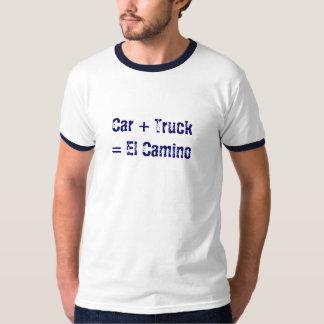 El hybrid- Camino (bekläda och dra tillbaka Tee Shirts