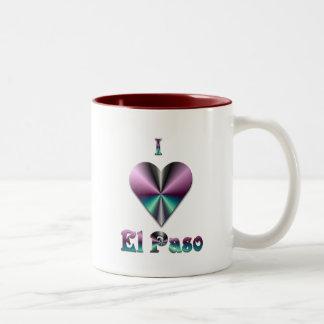 El Paso -- Lilor & turkos Två-Tonad Mugg