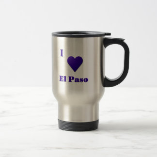 El Paso -- Midnatta blått Resemugg