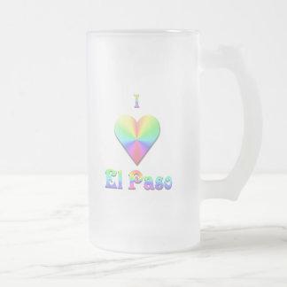 El Paso -- Pastell Frostat Ölglas