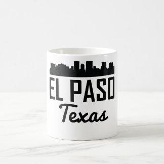 El Paso Texas horisont Kaffemugg