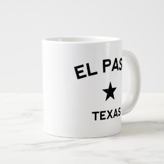 El Paso Texas Jumbo Mugg
