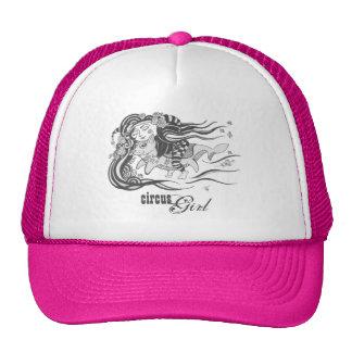 Elakt trollhundfisk, cirkusflicka, rosa keps