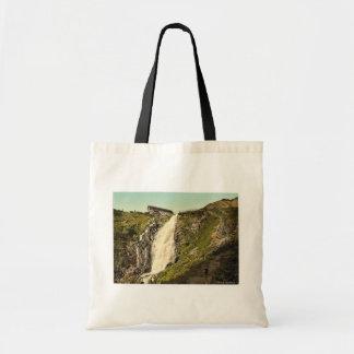 Elbfall Riesengebirge, tyskland klassiker Photochr Tote Bags