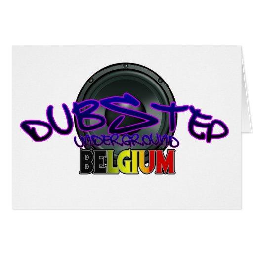Electro för Reggae för Belgien DUBSTEP dubsmuts Kort