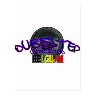 Electro för Reggae för Belgien DUBSTEP dubsmuts Vykort