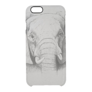Elefant 2011 clear iPhone 6/6S skal