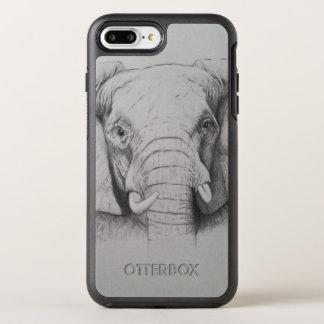 Elefant 2011 OtterBox symmetry iPhone 7 plus skal