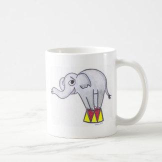 """""""Elefant av den roliga"""" muggen Kaffemugg"""