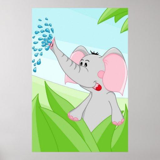 Elefant från afrika affischer