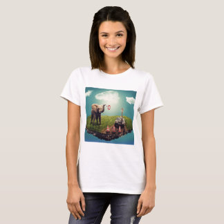 Elefant- & giraffdröm t shirts