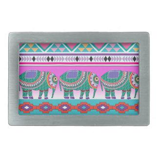 Elefant med det Aztec mönster