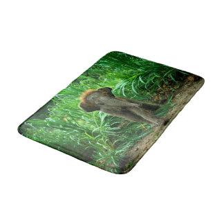 Elefant och gräs badrumsmatta