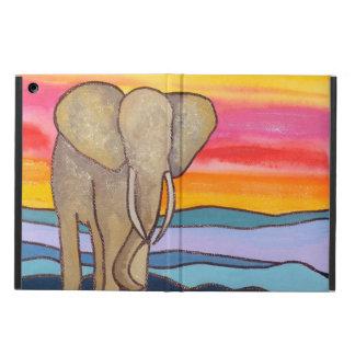 Elefant på solnedgången i afrikan (K. Turnbull Kon iPad Air Skydd
