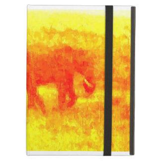 Elefanten går fodral för iPad air