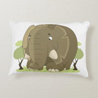 Elefanten kudder prydnadskudde
