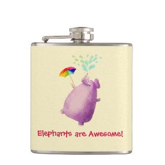 Elefanter är enorma fickplunta