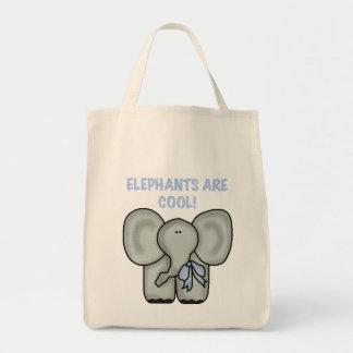 Elefanter är kalla Tshirts och gåvor Mat Tygkasse