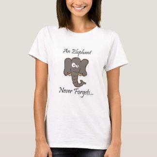 Elefanter glömmer aldrig tröja
