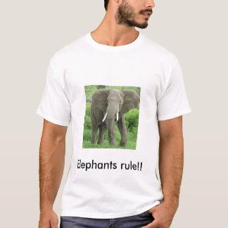 Elefanter HÄRSKAR! Tröja