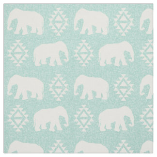 Elefanter - mint tyg