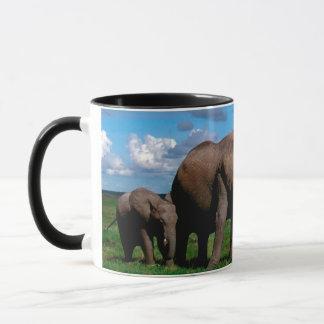 Elefanter Mugg