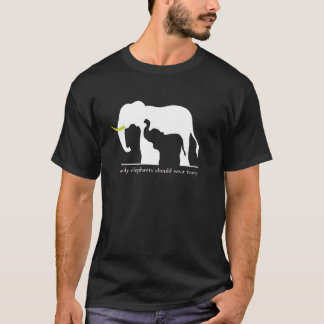 Elefanter och elfenben tröja
