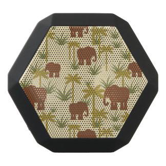Elefanter och handflatan i kamouflage svart bluetooth högtalare