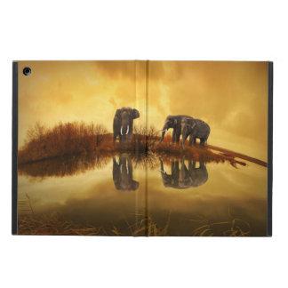 Elefanter på solnedgången, iPadluftfodral iPad Air Skydd