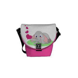 Elefanthjärtor Messenger Bag
