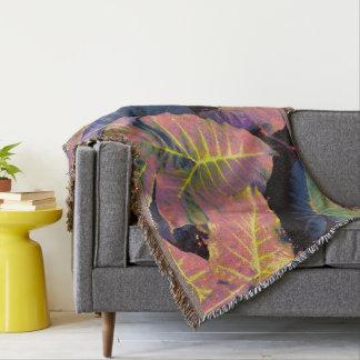 Elefantlöv i tropiska pastell mysfilt