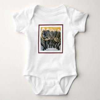 Elefantmässingsmusikband Tee Shirt