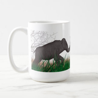 Elefantslagsmål Kaffemugg