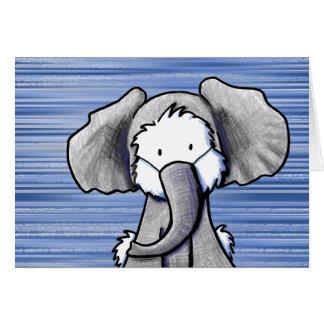 ElefantWestie Terrier OBS Kort