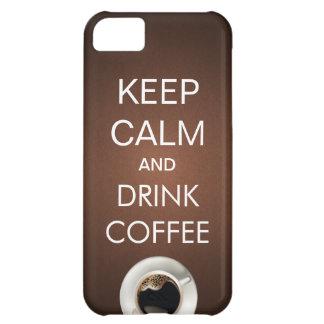 Elegant behållalugn fodral för drinkkaffeiPhone