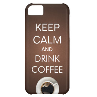 Elegant behållalugn & fodral för drinkkaffeiPhone iPhone 5C Fodral