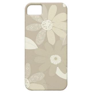 Elegant beige iPhone 5 cover