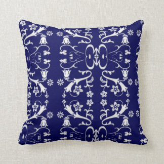 Elegant blåttBatik kudder Kudde