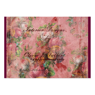 Elegant blom- visitkort