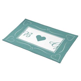 Elegant bordstablett för Monogram för