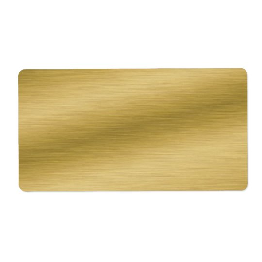 Elegant borstad guld- Look Fraktsedel
